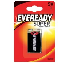 Energizer Bateria Eveready Super Heavy Duty 9V 6F22 1 szt. blister