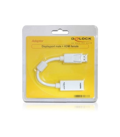 Delock Adapter DISPLAYPORT(M)->HDMI(F)