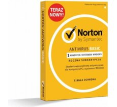 Symantec Norton AntiVirus Basic PL BOX 1U 1Dvc 1Y      21370583
