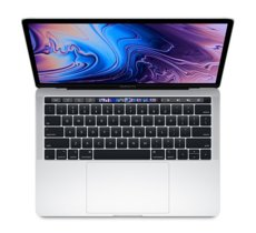 Apple MacBook Pro 13 Touch Bar, 2.4GHz quad-core 8th i5/16GB/256GB SSD/Iris Plus Graphics 655 - Silver MV992ZE/A/R1