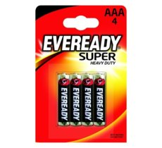 Energizer Bateria Eveready Heavy Duty AAA R3 4 szt. Blister