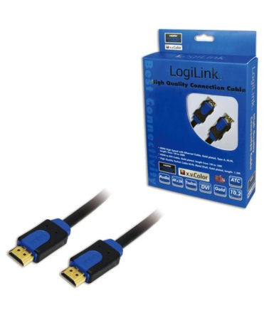 LogiLink Kabel HDMI 1.4 High Speed z Ethernet, dl. 2m