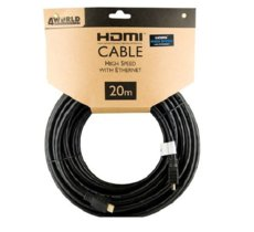 4world 4W Kabel HDMI High Speed z Ethernetem  (v1.4), 20m
