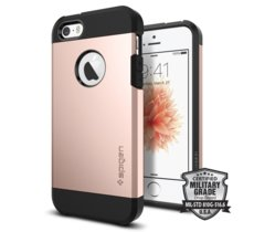 SPIGEN SGP  Tough Armor Rose Gold Etui iPhone 5/5S/SE
