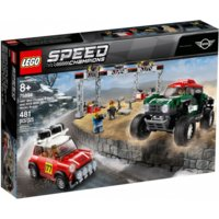 LEGO Klocki Speed Champions 196 7 Mini Cooper S Rally oraz 2018 MINI John Cooper Works Buggy GXP-671525