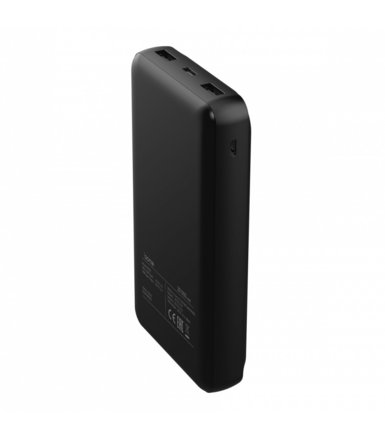 ACME Europe Powerbank 20.000 mAh PB103 , czarny (2x USB 2,1A (Type-C + MicroUSB))
