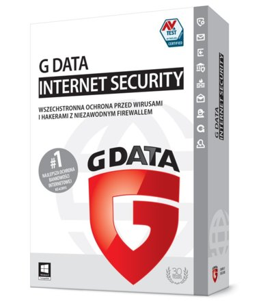 G DATA InternetSecurity 2015 3PC 1Rok BOX