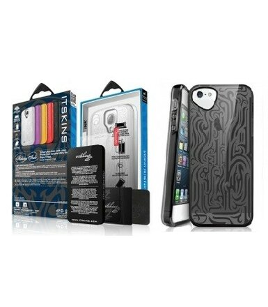 ITSKINS Etui Ink iPhone 5/5s Czarne